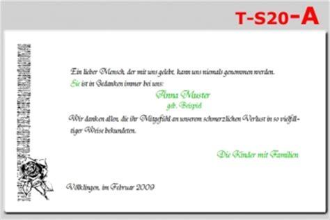 Trauerkarte Schreiben Muster 1 Trauerdanksagung Karte Trauerfall Trauer Trauerkarte Ebay