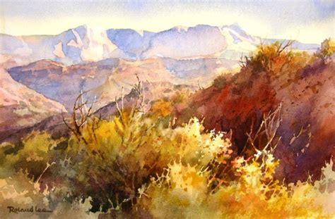 Landscape Paintings Utah Desert Study Roland