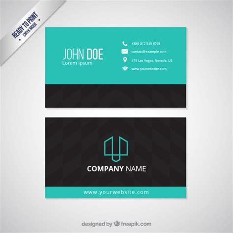 template visit card visit card template vector free