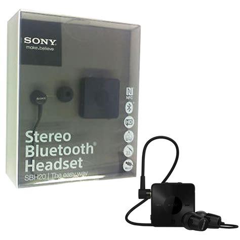Sony Stereo Bluetooth Headset Sbh20 sony aud 237 fonos stereo bluetooth headset sbh20 prophone