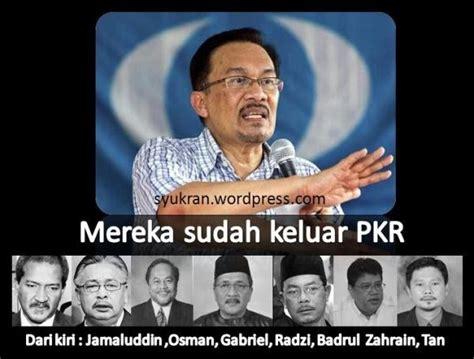 Bebas Dari Kuasa Gelap idealis malaysia senarai adun ahli parlimen mp dan