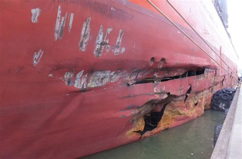 News Roundup Wrecked Cargo Ship And Behaving Badly by Maib Publishes Investigation Report Into Collision Between