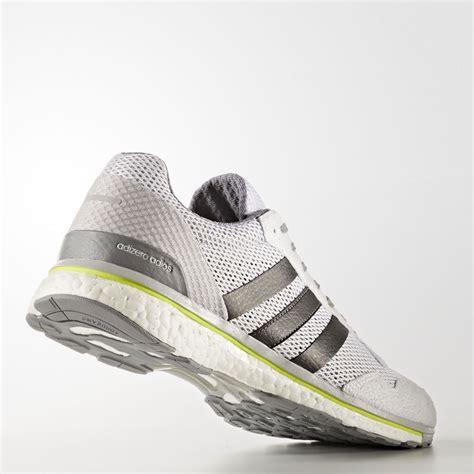 adidas adizero adios mens grey running road sports shoes trainers pumps ebay
