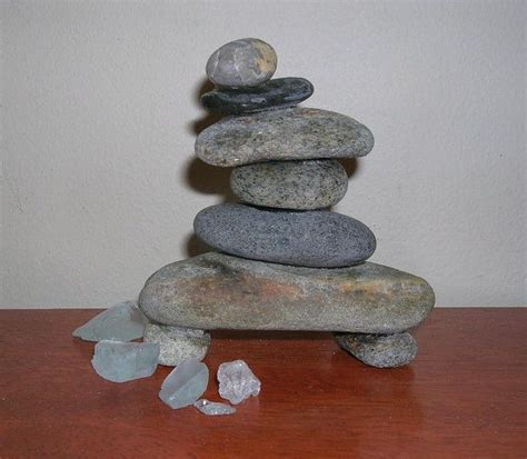 cairn natural stone sculpture stacked rock sculpture
