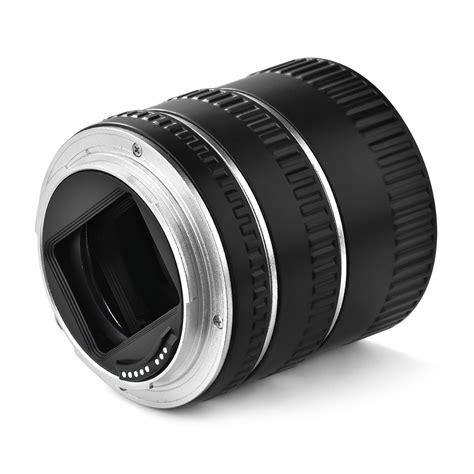 Auto Focus Extension Macro Canon Eos Tfp Baru Lensa Kamera macro auto focus extension set silver for canon eos up ebay
