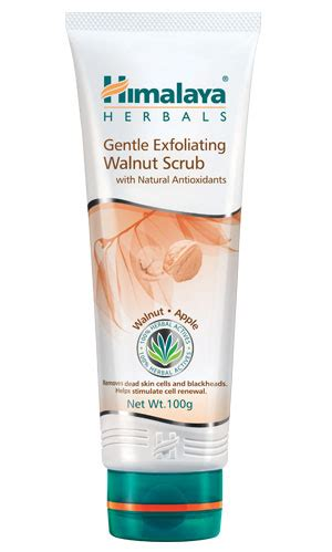 Scrub Himalaya gentle exfoliating walnut scrub from himalaya herbal