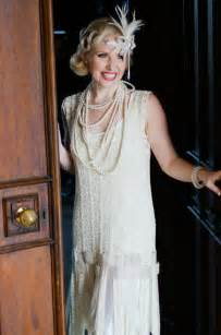 diy 1920s flapper hairstyles modern day gatsby glamour flapper wedding dresses