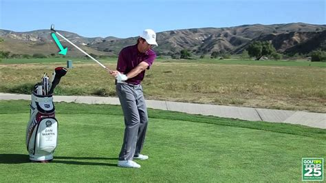 golf swing plane tips golf tips magazine find your true swing plane youtube