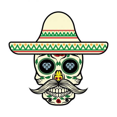 imagenes de calaveras en caricatura dise 241 o de calavera mexicana descargar vectores gratis