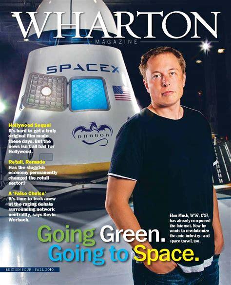 Elon Musk Wharton Mba by He Won T Back