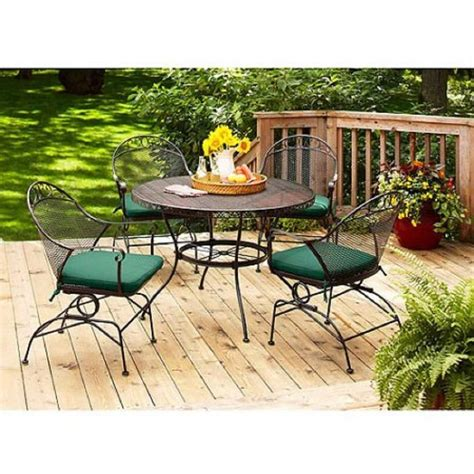 top 10 best wrought iron patio furniture sets pieces