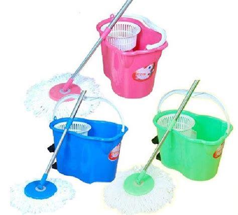 Tongkat Pel Lantai Pink toko noni magic mop