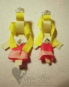 how to make a cross hair bow sculpture 1000 images about d i y hairbows for madi on pinterest