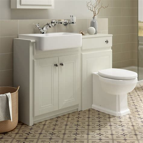 Combined Bathroom Vanity Units by Traditional Combined Bathroom Furniture Sink Basin Vanity