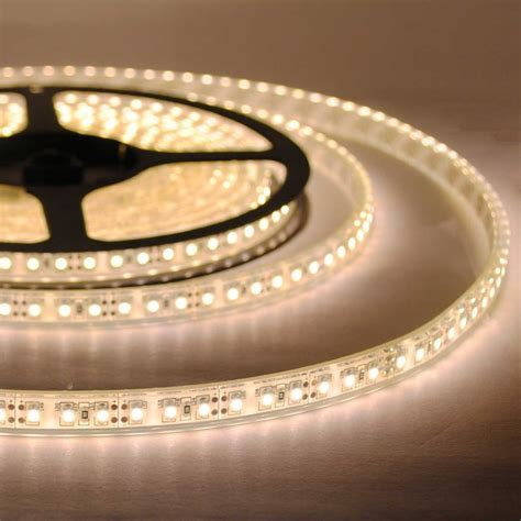 Led Strips led warm white 120 led m waterproof per 50cm