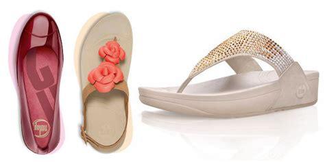 Sandal Sehat Sandal Trendy fitflop sepatu dan sandal nyaman untuk lebaran vemale