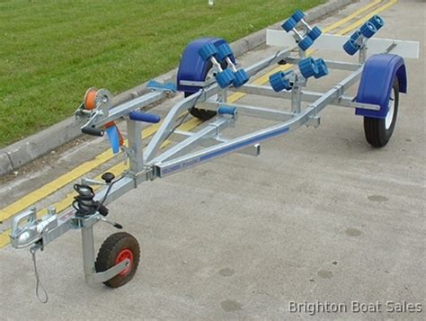 small boat trailer rollers indespension js05 roller jet ski trailer in east sussex