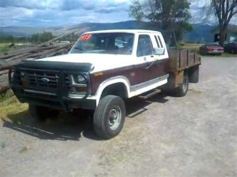 1982 ford f250 1982 ford f250 4x4 auto 351 v8 flatbed for sale 1973