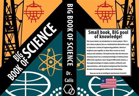 the science book big big book of science book cover by appleofecstacy on