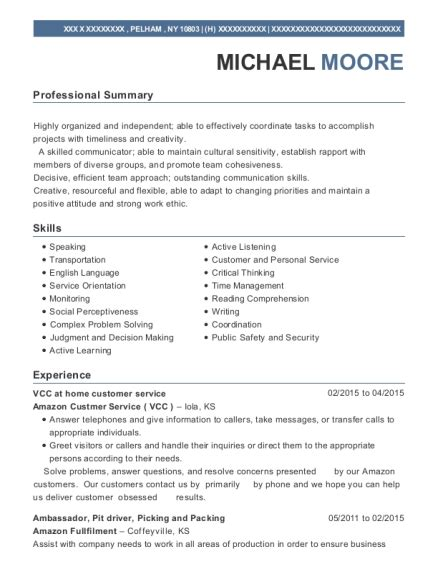 impressive picker packer resume sle picking and packing resume picker and packer resume exles created by pros myperfectresume