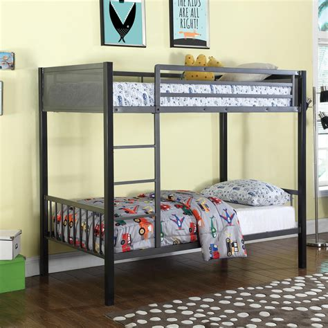 coaster twin loft bed with desk coaster bunks twin bunk bed value city furniture