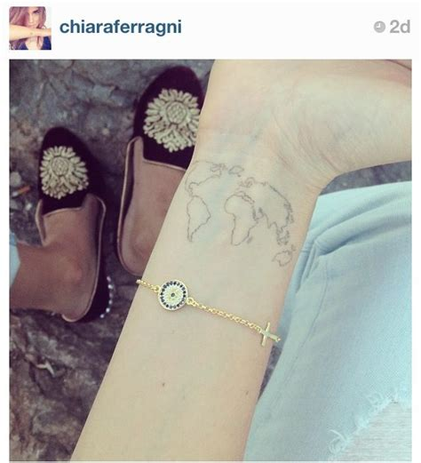 chiara ferragni tattoos wrists tattoologist rad tats and piercings n stuff