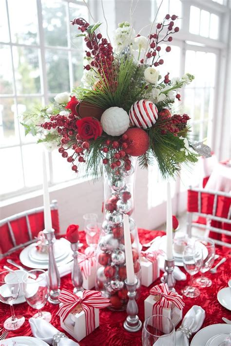christmas table decorations 1224 best christmas table decorations images on pinterest