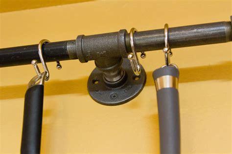 hometalk diy pot rack  pipes  home depot