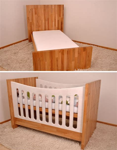 Crib Couch Bed Convertible Furniture Grows With Kids Child Crib Bed