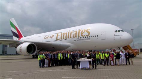 emirates youtube emirates receives 80th airbus a380 emirates airline