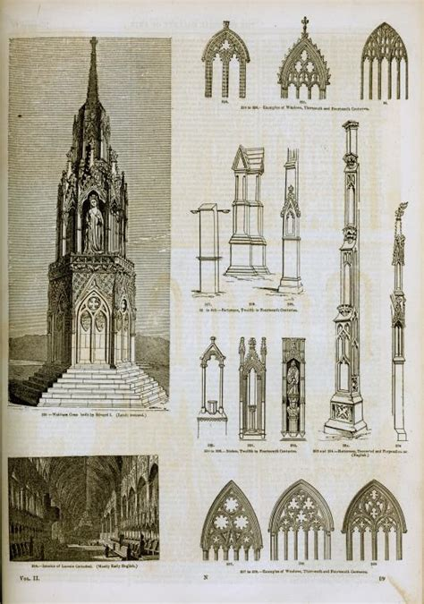 gothic design file english gothic architecture and arch elements jpg