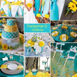turquoise and yellow click to enlarge turquoise and yellow color story exclusively weddings blog wedding ideas