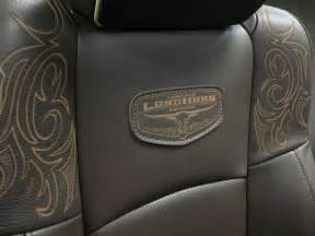 2011 dodge ram laramie longhorn edition seats the