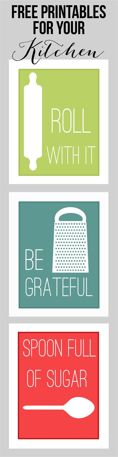 free printable kitchen poster 25 best ideas about printable kitchen prints on pinterest