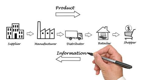 cadenas de suministro que son cadena de suministros timeline timetoast timelines