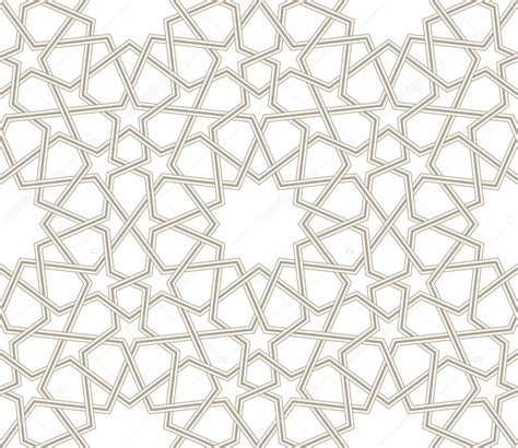 star pattern background vector islamic star pattern grey lines with white background