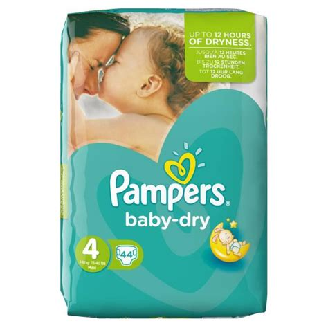 pampers couches baby dry maxi taille  de    kg