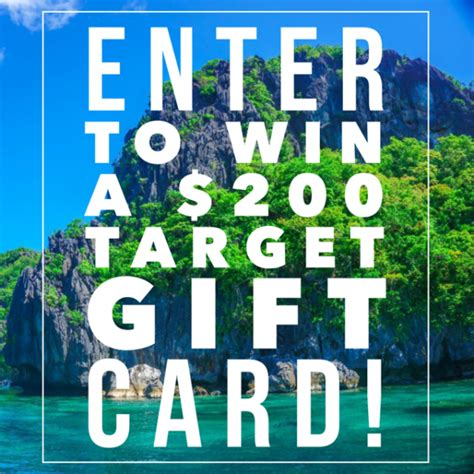 Target 200 Gift Card Giveaway - 200 target gift card giveaway