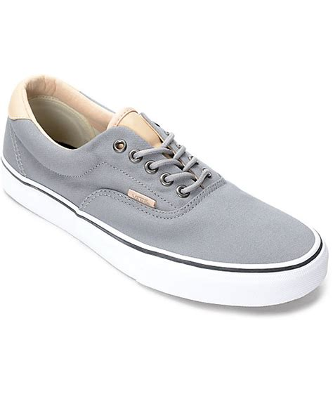 Vans Era 59 Grey vans era 59 veggie grey skate shoes at zumiez pdp