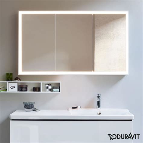 duravit illuminated bathroom mirrors cabinets designcurial duravit mirror cabinet bar cabinet