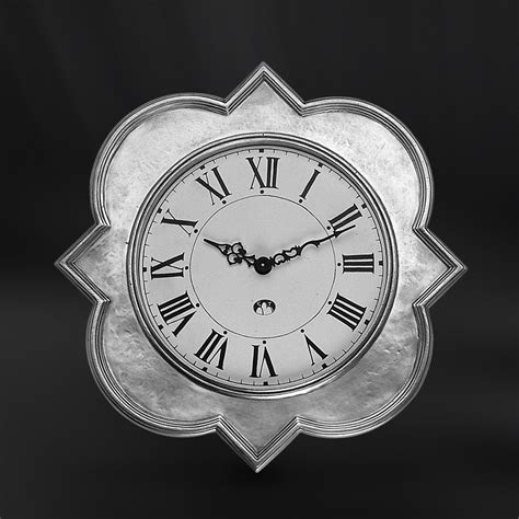 pewter wall clock italian pewter home d 233 cor