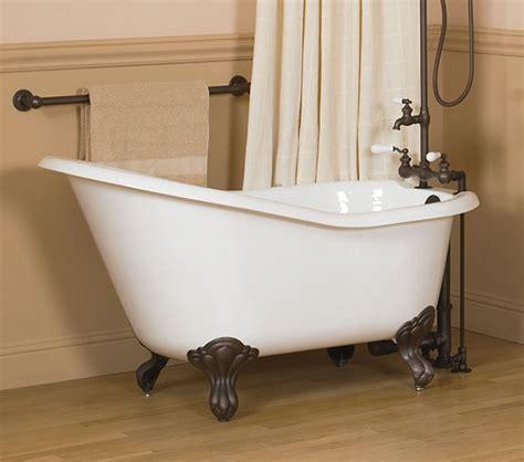 54 in bathtub 54 quot cast iron slipper bathtub
