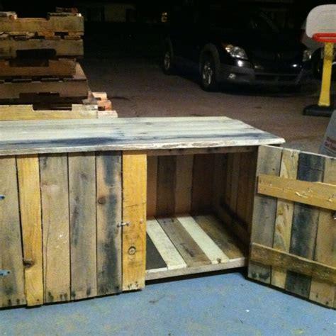 pallet storage bench 25 best ideas about deck storage bench on pinterest outdoor storage benches patio