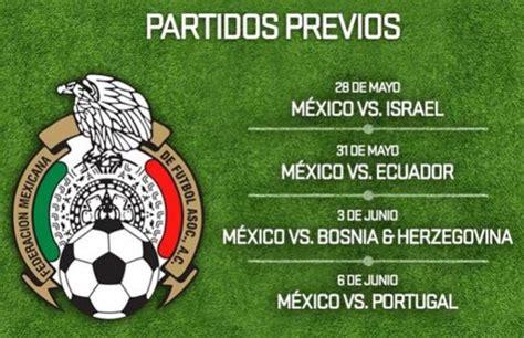 Calendario Seleccion Mexicana Calendario De Partidos De La Seleccion Mexicana New