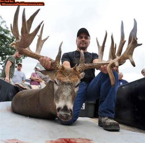 Records In Wisconsin Potential World Record Buck In Wisconsin Indiana Sportsman Your Indiana