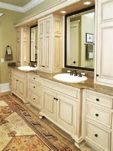 Master Bathroom Vanity Ideas Breathtaking Vanity For Master Bathroom With Antique White Painted Cabinets And Granite