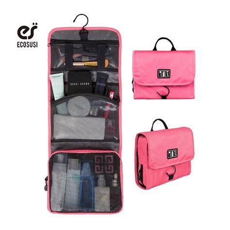 Big Sale Tas Travel Bag In Bag Organizer Gray aliexpress buy ecosusi hanging toiletry kit travel bag cosmetic bags carry makeup