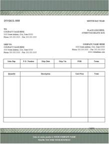 Performa Invoice Template by 100 Free Invoice Templates Word Excel Pdf Formats