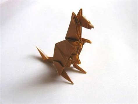 How To Make An Origami Kangaroo - origami kangaroo by engel part 1 of 2