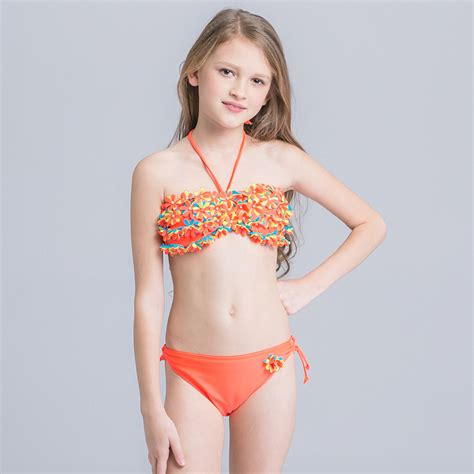 child thong model aliexpress com buy bikinis girl two pieces swimsuit